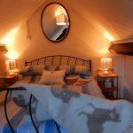 Cosy Crog loft bedroom